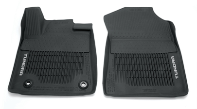 Toyota Tundra All Weather Floor Liners Black C Cab